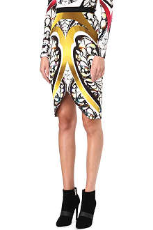 PETER PILOTTO Arrow printed skirt