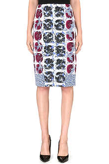 PETER PILOTTO Stretch-crepe pencil skirt