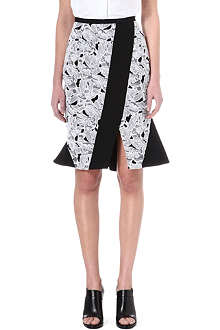 PETER PILOTTO Jane lace-panel skirt
