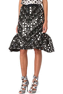 PETER PILOTTO Mirror Flower skirt