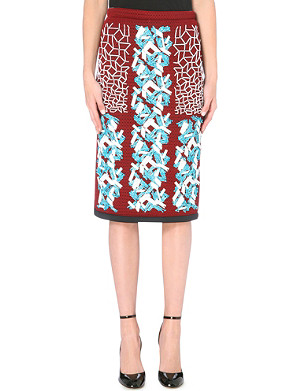 PETER PILOTTO Ace embellished pencil skirt