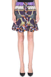 PETER PILOTTO Violet printed skater skirt