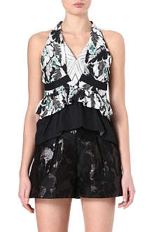 PETER PILOTTO Amanda leaf-print top