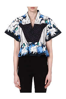 PETER PILOTTO Abbey cotton-blend top
