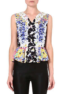 PETER PILOTTO Floral peplum top