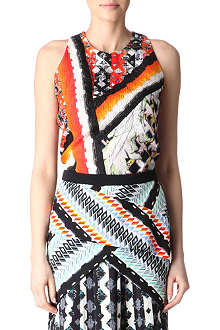 PETER PILOTTO Embossed printed top