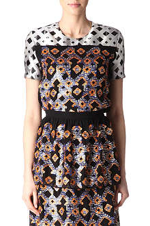 PETER PILOTTO Tilda short-sleeved top