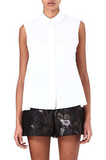 PETER PILOTTO Jackie lace-overlay shirt