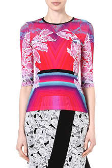PETER PILOTTO Printed long-sleeved top
