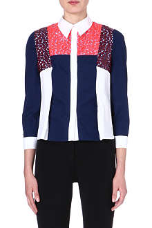 PETER PILOTTO Naya contrast-panel shirt