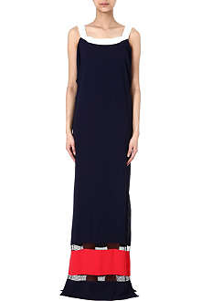 VIONNET Colourblocked maxi dress