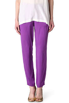 VIONNET High-waisted trousers