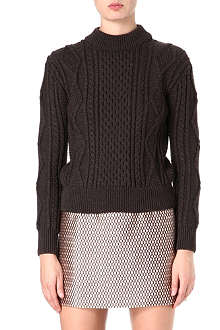 MARC JACOBS Aran-knit jumper