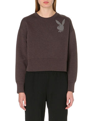MARC JACOBS Playboy Bunny cropped jumper