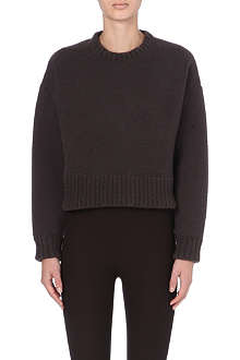 MARC JACOBS Cropped knitted jumper