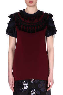 MARC JACOBS Embellished tassel top