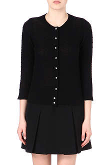 MARC JACOBS Jewel-button cashmere cardigan