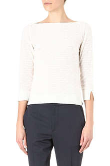 MARC JACOBS Boat-neck cashmere jumper