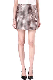 MARC JACOBS Grid-print mini skirt