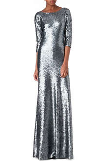 MARC JACOBS Scoop-back sequin gown