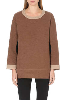 MARC JACOBS Contrast-elbow jumper