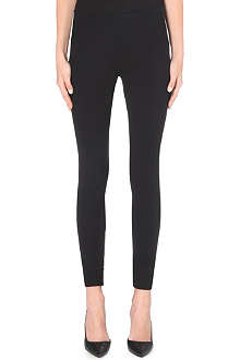 MARC JACOBS Zip-detail wool-blend leggings