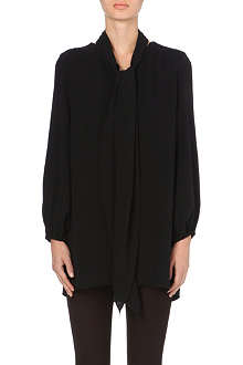 MARC JACOBS Scarf-detail silk tunic