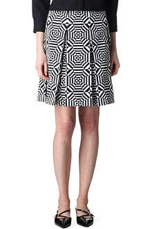 MARC JACOBS Kaleidoscope pleated skirt