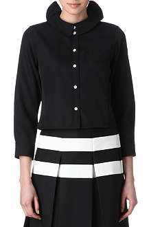 MARC JACOBS Ruffled collar shirt