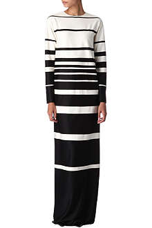 MARC JACOBS Striped maxi dress