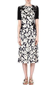 MARC JACOBS Floral jersey dress