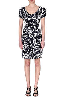 MARC JACOBS Floral print cotton dress