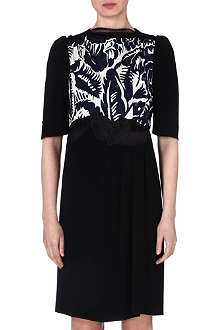 MARC JACOBS Floral print embellished dress