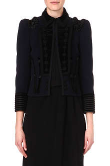 MARC JACOBS Military embroidered jacket