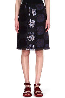 MARC JACOBS Lotus sequin skirt