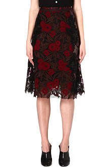 MARC JACOBS A-line sequin skirt