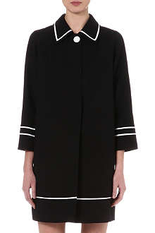 MARC JACOBS Contrast-trim coat