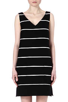 MARC JACOBS Striped wool dress