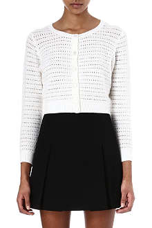 MARC JACOBS Cropped cashmere cardigan