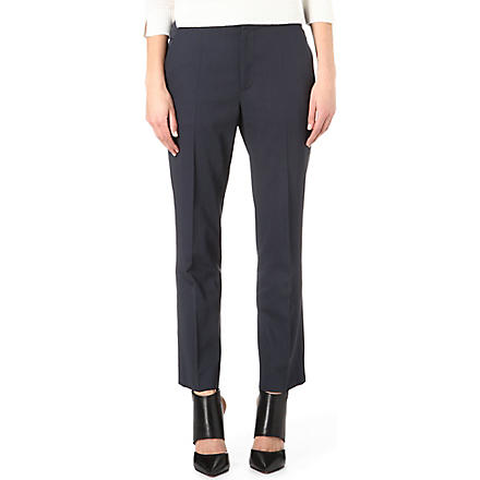 MARC JACOBS Cropped wool trousers (Grey