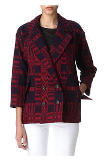 ISABEL MARANT Oversized blanket jacket