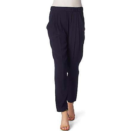 3.1 PHILLIP LIM Silk trousers (Navy