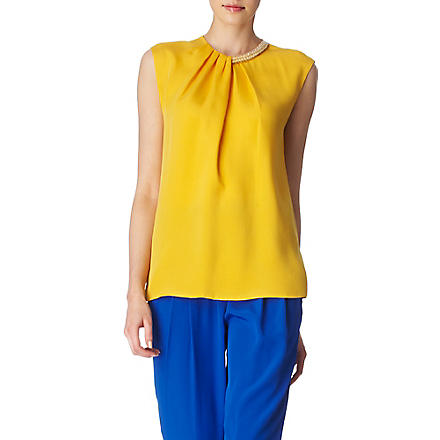 3.1 PHILLIP LIM Beaded neck top (Mango