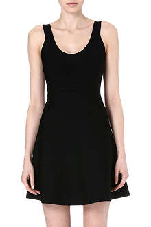 HERVE LEGER A-line bandage dress