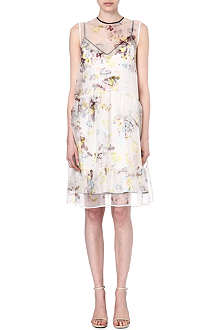 ERDEM Maddox drop-waist dress