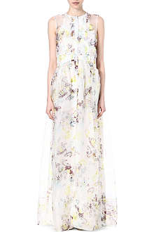 ERDEM Priya printed silk maxi dress