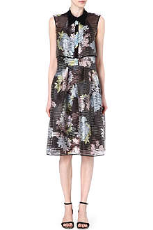 ERDEM Carenza open-back dress