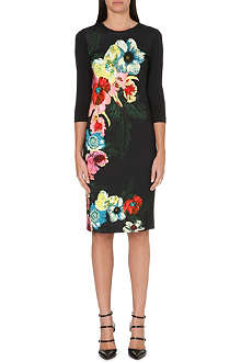 ERDEM Allegra floral-print jersey dress