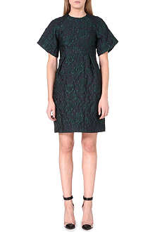 ERDEM Cliona floral-brocade dress