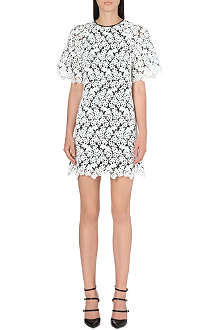 ERDEM Floral lace embroidered dress